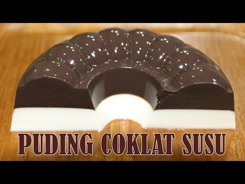 RESEP DAN CARA MEMBUAT PUDING COKLAT SUSU