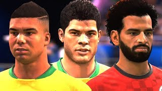 WORLD CUP 2018 NEW PLAYER FACES (FIFA 18)