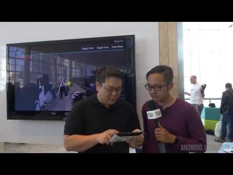 Project Tango Interview and Demo at Google I/O 2014