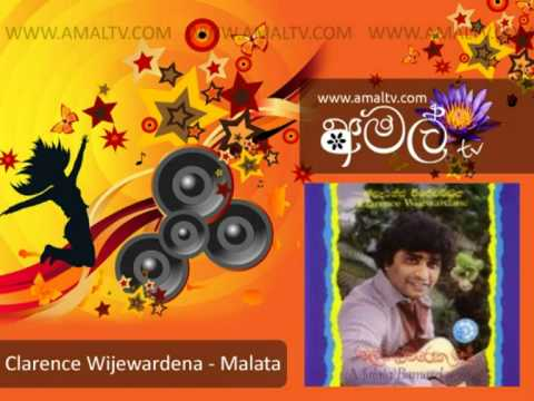 Clarence Wijewardena - Malata - Mp3 - WWW.AMALTV.COM