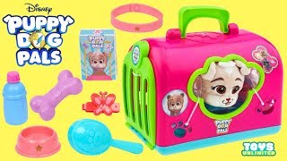Disney Junior Puppy Dog Pals Groom and Go Keia Play Set Bath and Grooming!