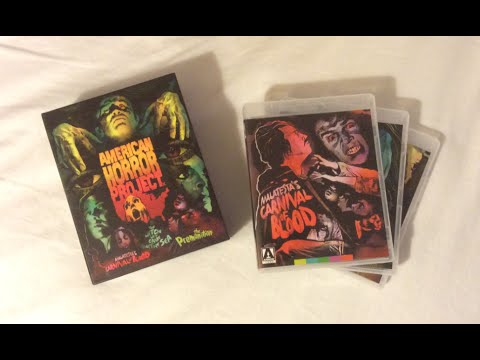 American Horror Project: Volume 1 - Arrow Video (1973-1976) Blu Ray Review and Unboxing