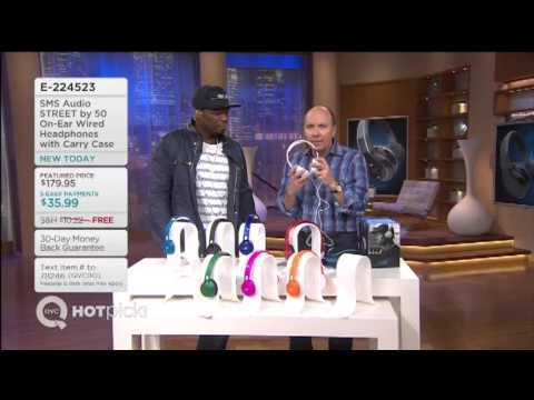 SMS Audio on QVC Hosted by 50 Cent 2013