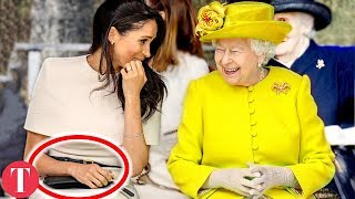 This Is How The Royal Family Hid Meghan Markle's Pregnancy In Public For So Long
