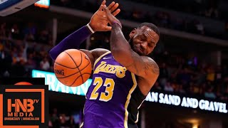 Los Angeles Lakers vs Denver Nuggets Full Game Highlights | 11.27.2018, NBA Season