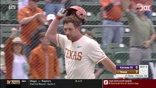 Kansas State at Texas Baseball Highlights - Game 2