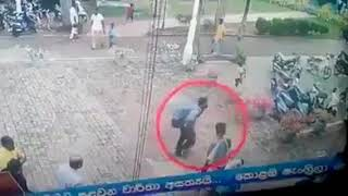 Sri Lanka bomb blast video.