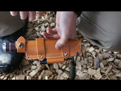 Gear Presentation: JRE Industries Sheath for Fallkniven IDUN NL5 - PinewoodCH