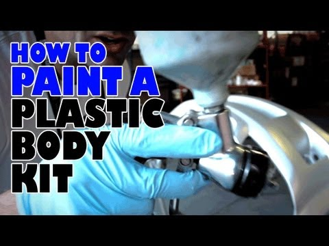 How to paint a plastic body kit complete guide