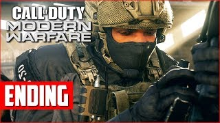 Call of Duty Modern Warfare Campaign Gameplay Walkthrough, Part 2 Ending! (COD MW PS4 Pro Gameplay)
