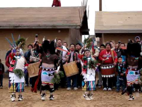 Hopi Buffalo Dance 2009 pt 1