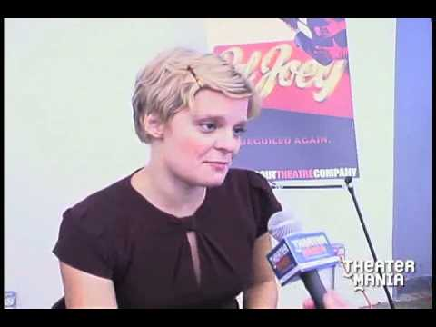 Martha Plimpton Interview - Star of Broadway's Pal Joey Video