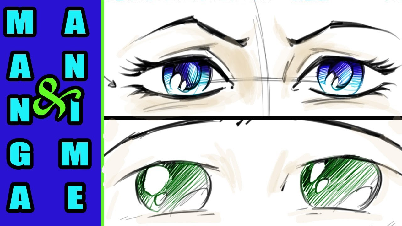 Drawing Manga Eyes Comic