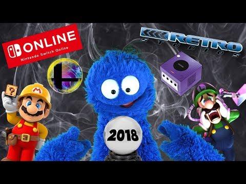 Let's Predict Nintendo's 2018!