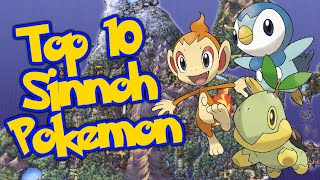 JPRPT98's Top 5 Favorite Sinnoh Pokemon!