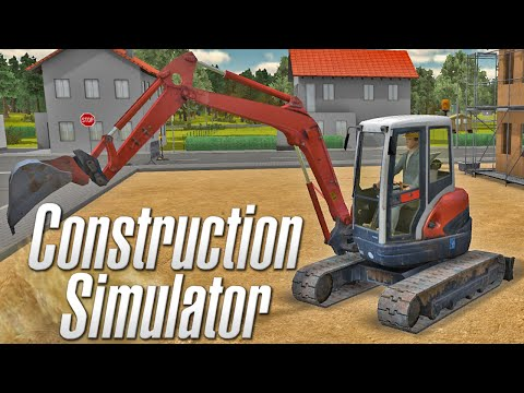 Construction Simulator 2012 - Mini Escavadeira