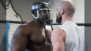 Bodybuilder Blessing Awodibu Vs SBG Fighter Peter Queally in MMA