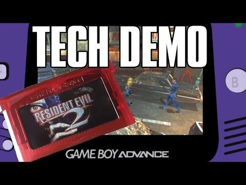 Resident Evil 2: Game Boy Advance (Tech Demo)