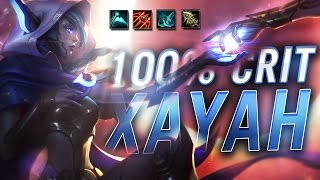 Gosu - 100% CRIT XAYAH + OTHER ADC