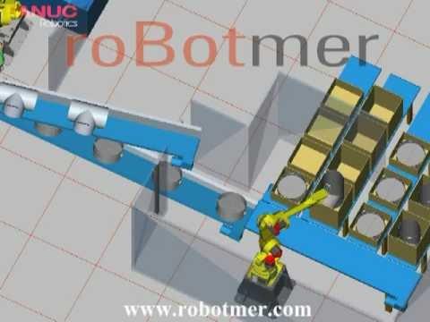 Taşıma Robotu Simülasyonu 8