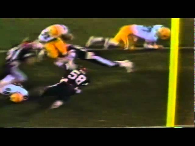 Oregon RB Derek Loville 4 yard touchdown run vs. San Diego St. 10-01-1988