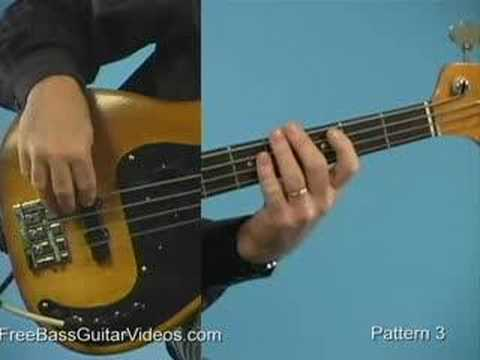 Beginner Bass Guitar Lesson: Blues Basics video