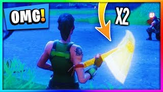 HOW TO SWING YOUR PICKAXE 2X AS FAST   Fortnite Glitch   Fortnite Battle Royale