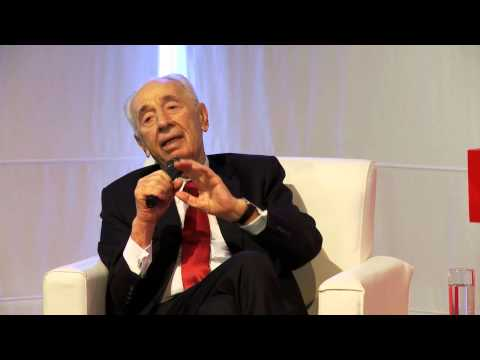 The intimate encounter of technology and leadership | Shimon Peres | TEDxJaffa