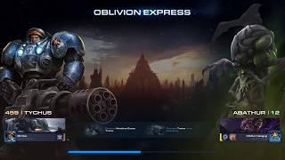 Starcraft 2 Co-Op Walkthroughs: Oblivion Express