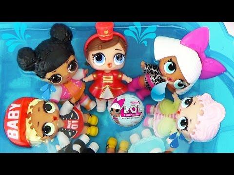 Куклы ЛОЛ СЮРПРИЗЫ 2 Малышки меняют цвет Шарики с пупсами L.O.L. Surprise Ball Toys