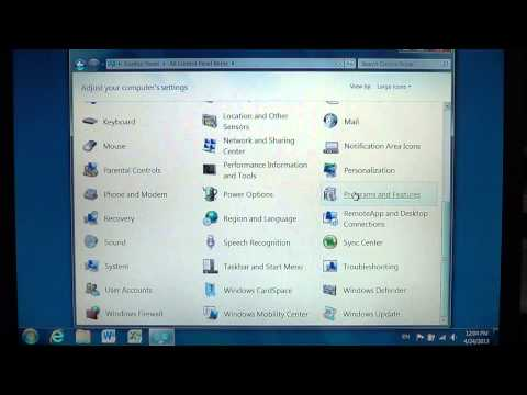 Windows 7 - How to remove and roll back from Internet explorer 10 to previous browser