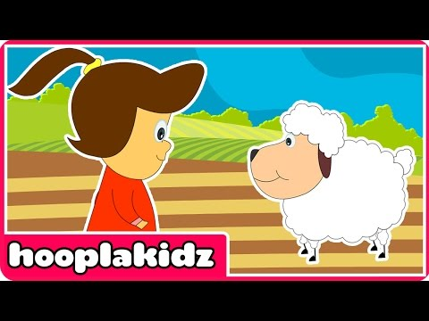 Mary Had A Little Lamb - Nursery Rhymes With Lyrics Music Videos