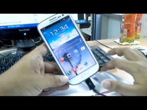Samsung Galaxy S3 Hang เครื่องค้าง