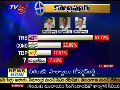 Telugu News- TV5 Survey On By Polls(TV5)