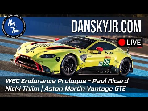 Aston Martin | Nicki Thiim | Prologue 2018 | Paul Ricard |