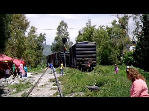 ENCUENTRO DE TRENES EN ESCAPE TENAYUCA