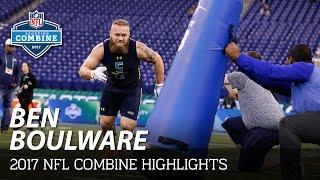 Ben Boulware (Clemson, LB) | 2017 NFL Combine Highlights