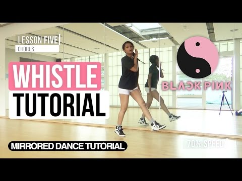 download lagu Mirrored BLACKPINK - 휘파람 WHISTLE  FULL Dance Tutorial gratis
