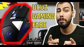 Ucuz Oyuncu Faresi! Fiyat Performans Gaming Mouse Set SGM RX9