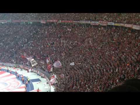 [4-3] Pokalfinale Bayern München - Borussia Dortmund 21.5.2016 Stimmung beim Pokalsieg der Bayern