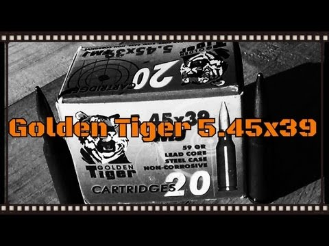 Golden Tiger 5.45x39 Fmj Ballistics Gel Test In The Arsenal Sgl-31 Ak (hd) video