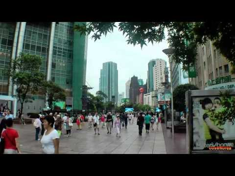 Shanghai Museum and Nanjing commercial street - Trip to China part 50 - Full HD travel video
