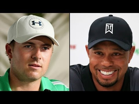 Jordan Spieth vs. Tiger Woods