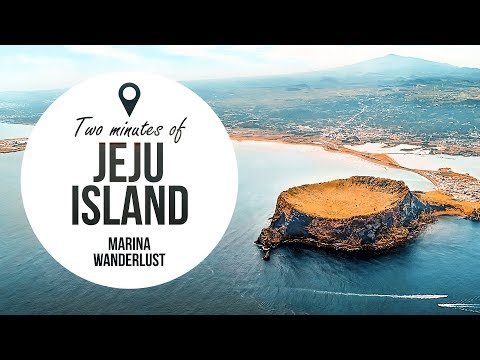 Jeju Island South Korea Travel Guide in 2 Minutes | Map Inside Video