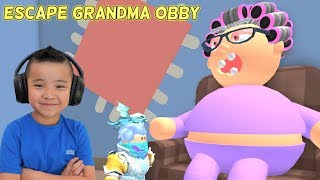 Escape Grandma Obby Roblox CKN Gaming