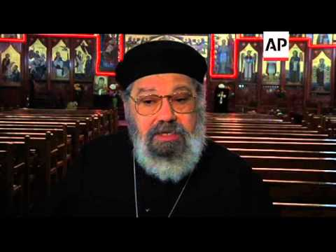 Priest reacts as French police probe threats on Coptic Christians