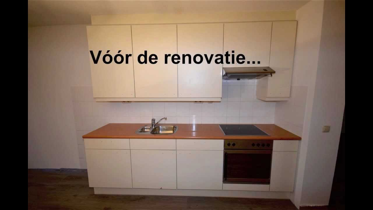 Keuken Renoveren Folie : Renovatie keuken in Almere 3 – YouTube