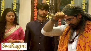 Swaragini | Sahil disguises as Pandit – On Location | 5th July 2016 EPISODE
