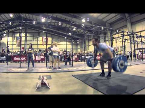 CrossFit Games Regionals 2012 - Rich Froning Snatch Ladder Image 1
