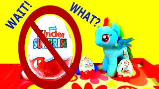 KINDER FAIL! What